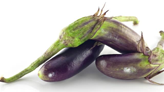 Isolated Eggplant group