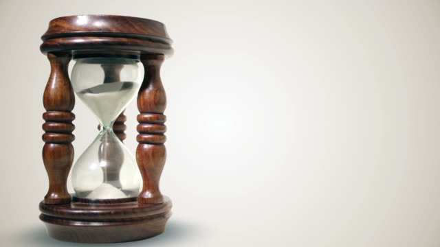 Isolated Hourglass video