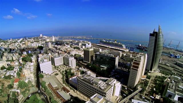 Israel city Haifa video