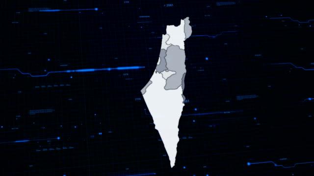 Israel network map video