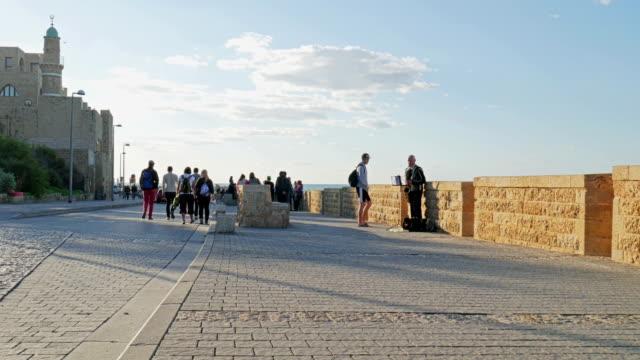 Israel, Old Jaffa, Tel Aviv, 05 December 2015 video