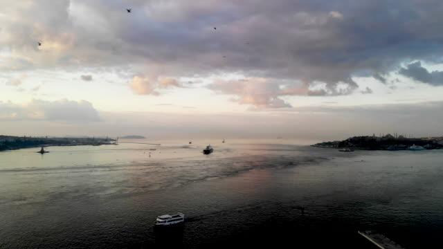 istanbul Bosphorus Bridge sunrise