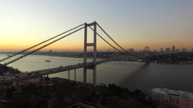 Istanbul Boğaziçi Köprüsü video