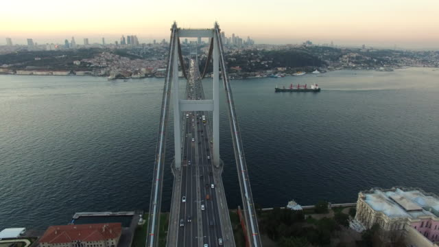 Istanbul Bosphorus Bridge video
