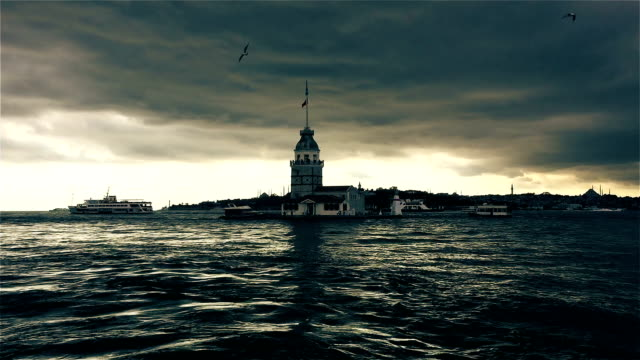 istanbul maiden's tower video