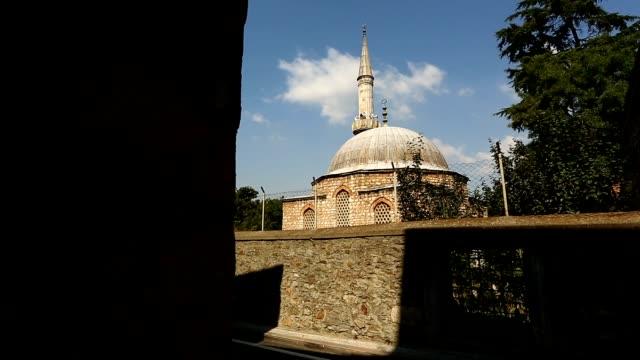 stockvideo's en b-roll-footage met istanbul ottomaanse cinili moskee timelapse - heilig geschrift