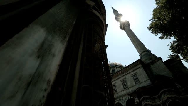 istanbul osmanska nusretiye moskén exteriör - moské bildbanksvideor och videomaterial från bakom kulisserna