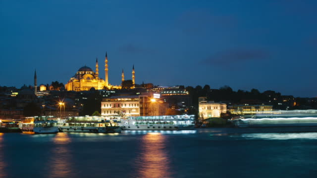 Istanbul time lapse video