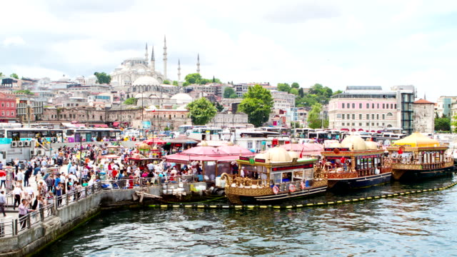 HD: Istanbul ** Time Lapse ** video