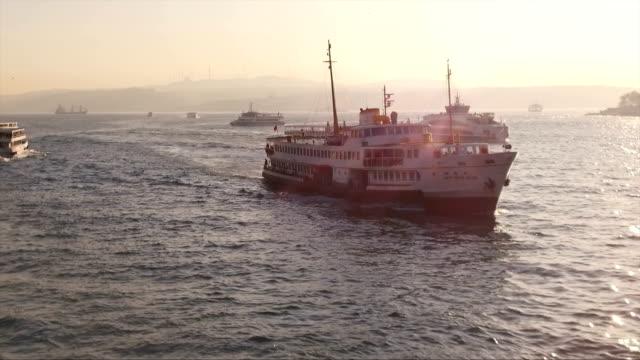 Istanbul, Turkey / Galata bridge video