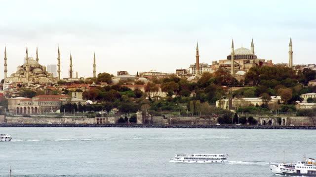 Istanbul,  Turkey, skyline Mosque video