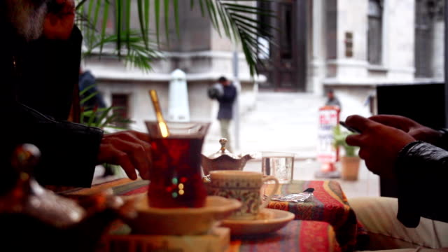 Istanbul Turkish Tea Terrasse video