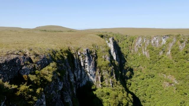 Itaimbezinho Canyon in Cambará do Sul, RS, Brazil video