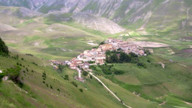 Italian ancient town video
