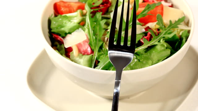 Italian mixed salad video