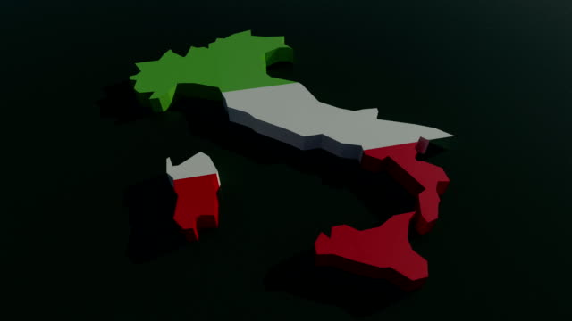 vídeos de stock, filmes e b-roll de itália animação 3d - manipulação digital