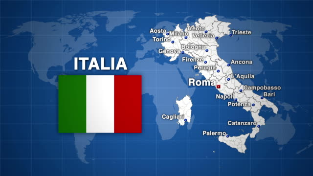 HD Italy Animation - 3 version video