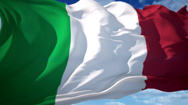 Italy Flag video