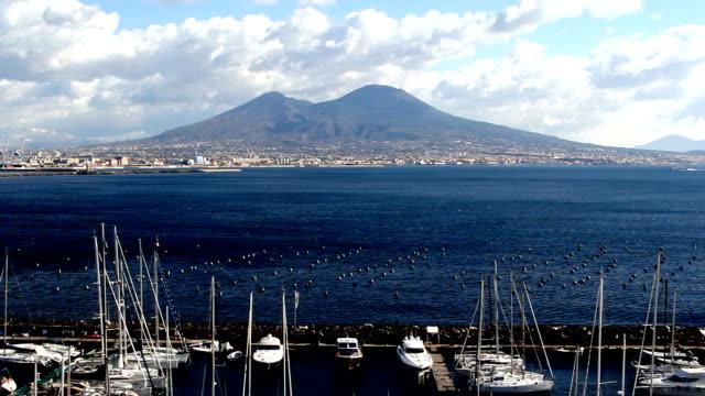 Italy, Naples vulcano Vesuvio video