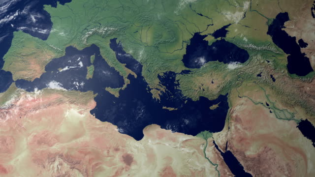 Italy  pops up centerd earth zoom (with alpha matte) Equatorial view on the globe. Zooming in on Europe and on Italy. there is also a version with italy ending up on the right giving more copyspace on the left. lombardy stock videos & royalty-free footage