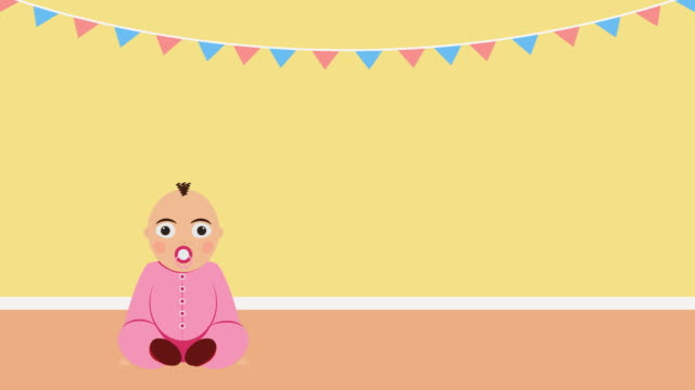 vídeos y material grabado en eventos de stock de es una chica. video anuncio de parto o invitación de babyshower - baby shower
