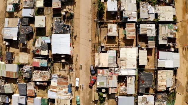 vídeos y material grabado en eventos de stock de es una sociedad afectada por la pobreza - aldea
