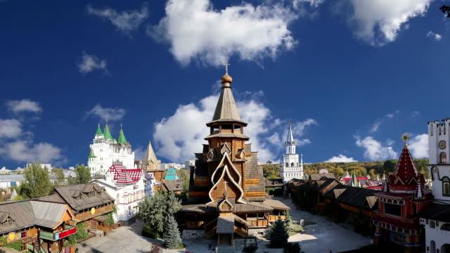 Izmailovsky Kremlin (Kremlin in Izmailovo), Moscow, Russia video