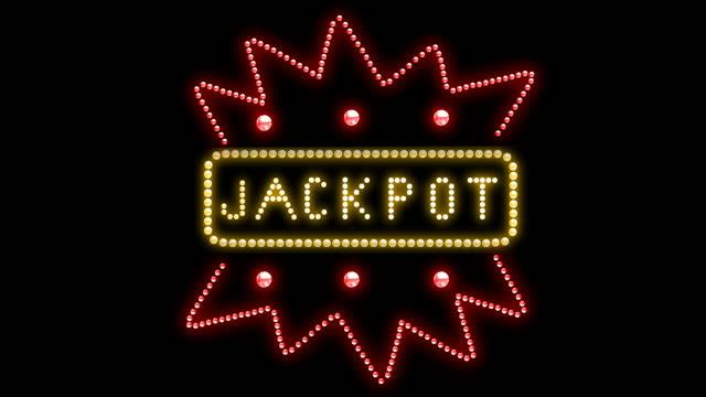 jackpot light-logotyp - logotyp bildbanksvideor och videomaterial från bakom kulisserna
