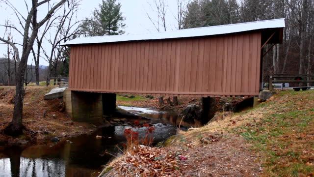 Jack's Creek Covered Bridge in Virginia, Verenigde Staten video