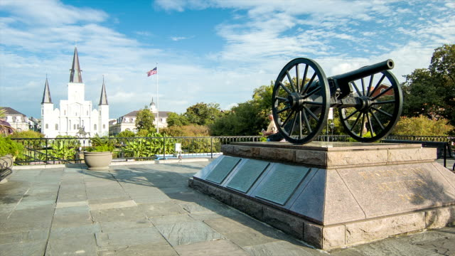 Jackson Square New Orleans French Quarter video
