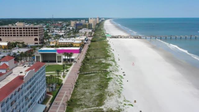 Jacksonville Beach - Aerial Drone Footage