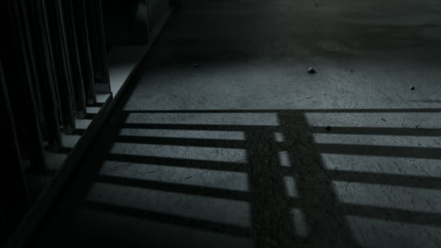 jail cell shadows animate view video
