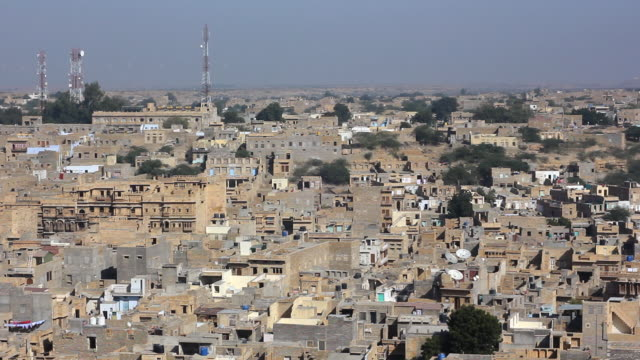 Jaisalmer old town, Rajasthan, India video
