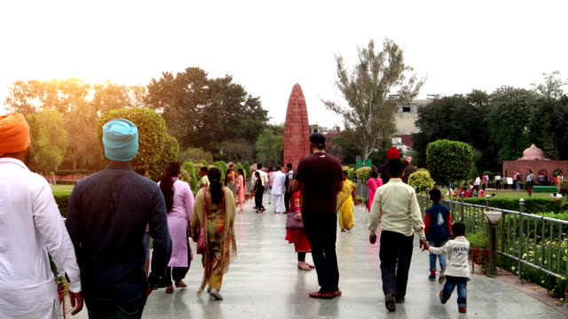 jallianwala bagh memorial, amritsar punjab, india - memorial day weekend stock videos & royalty-free footage