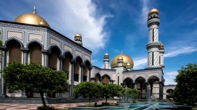 jame ' asr hassanil bolkiah moské - moské bildbanksvideor och videomaterial från bakom kulisserna