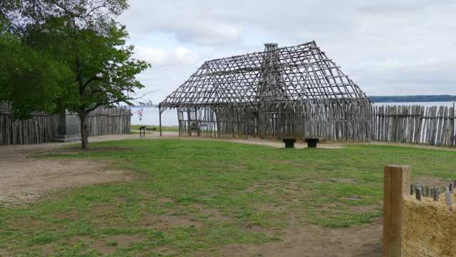 Jamestown Settlement James Fort Site Virginia Colonial National Historical Park video