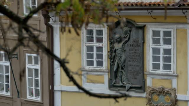 Jan Neruda Bronze Bas-relief video