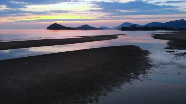 日本香川海 - 夏点の映像素材/bロール