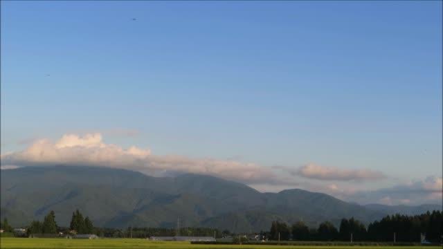 日本のタイムラプス - 里山点の映像素材/bロール