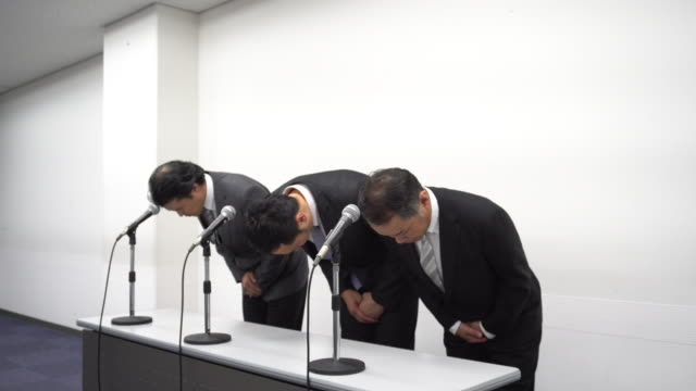 Japanese Business Apology video