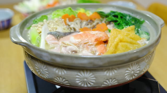 Japanese Nabe Hot Pot video