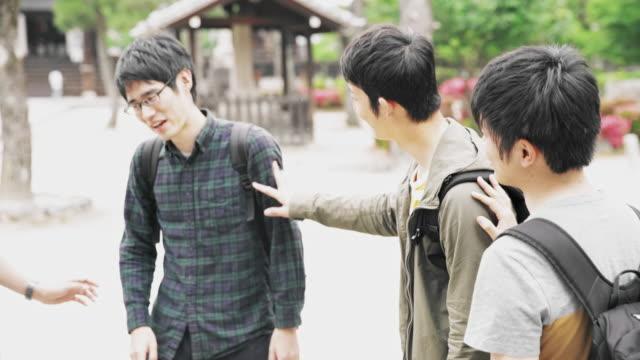 MS ラ日本学生公園でぶらぶら ビデオ