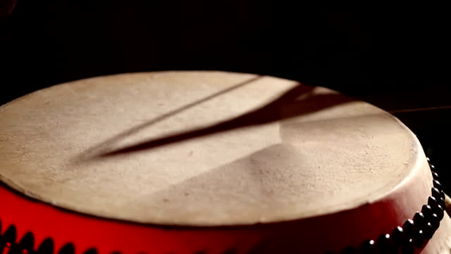 Japanese Taiko Drums Performance - Close Up video