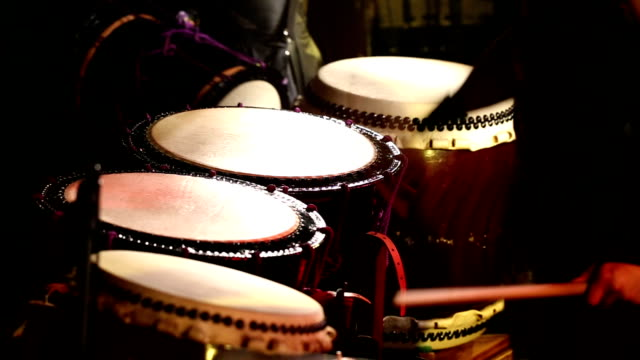 Japanese Taiko Drums Performance - Multiple Drums video
