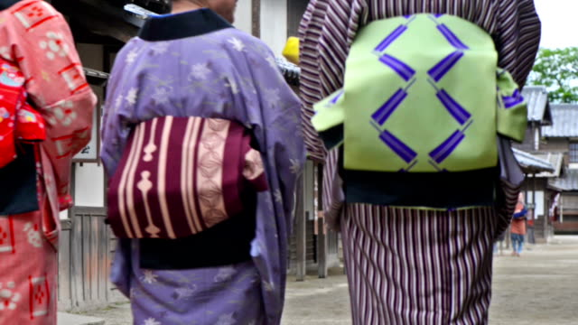 Japanese village in Edo Period video