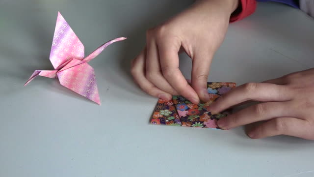 Royalty Free Making Origami Hd Video 4k Stock Footage B Roll Istock