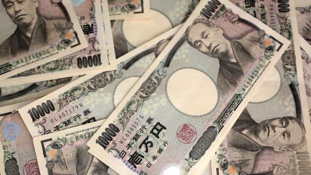 日本円 - 紙幣点の映像素材/bロール