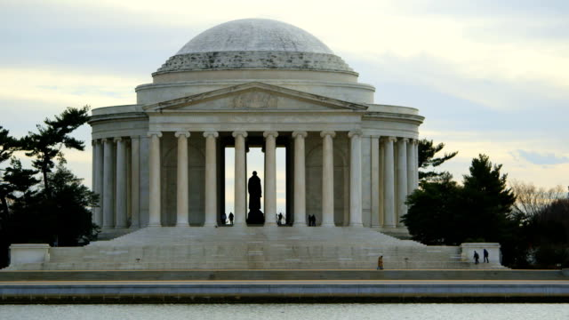 Jefferson Memorial in Winter