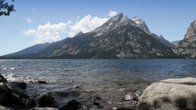 Jenny Lake at Grand Teton video