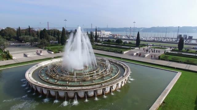 jeronimos monastery, lisbon, portugal - fontanna filmów i materiałów b-roll